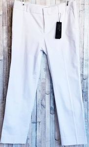 NEW Banana Republic white Hampton pant